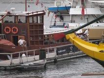 Porto turistic boats Royalty Free Stock Photos