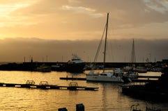 Porto turistico di Ognina Catania - Gommoni e Barche - Creative Commons by gnuckx m&m stock image