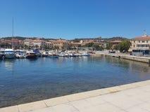 Porto turistico los angeles Maddalena zdjęcia royalty free