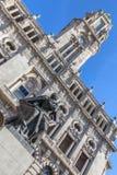 Porto urzędu miasta Niski kąt Obraz Royalty Free