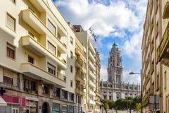 Porto urząd miasta Zdjęcia Royalty Free