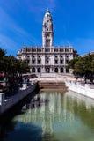 Porto urząd miasta w Avenida dos Aliados w Porto, Portugalia Obraz Royalty Free