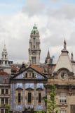 Porto urzędu miasta wierza, Porto Zdjęcie Royalty Free