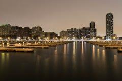 Porto vazio Fotografia de Stock