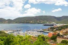 Porto vecchio in Corsica France Royalty Free Stock Image