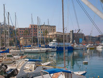 Porto Vecchio Genoa Italy Royalty Free Stock Photography