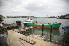 Porto velho da cidade de Mombasa Imagens de Stock