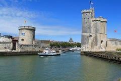 porto velho de La Rochelle em França Fotos de Stock Royalty Free