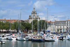 porto velho de La Rochelle em França Fotografia de Stock
