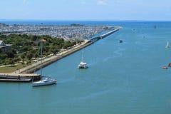 porto velho de La Rochelle em França Foto de Stock Royalty Free