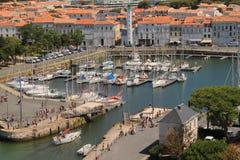 porto velho de La Rochelle em França Imagem de Stock