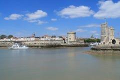 porto velho de La Rochelle em França Imagens de Stock