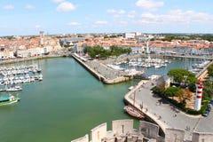porto velho de La Rochelle em França Imagens de Stock Royalty Free