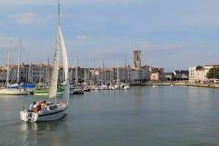 Porto velho de La Rochelle, França Imagens de Stock Royalty Free