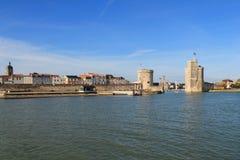 Porto velho de La Rochelle, França Fotografia de Stock