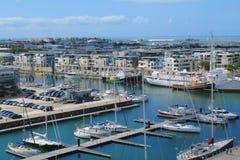 Porto velho de La Rochelle, França Imagem de Stock Royalty Free