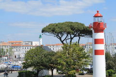 Porto velho de La Rochelle, França Fotografia de Stock Royalty Free