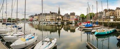 Porto velho Honfleur (05), Normandy, France foto de stock royalty free