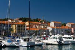 Porto Vendres Immagine Stock Libera da Diritti