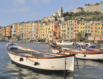 Porto Venere haven Stock Afbeelding