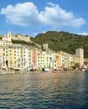 Porto Venere, italienska Riviera, Liguria, Italien royaltyfri foto