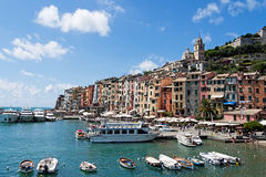 Porto Venere, Italy. General view. Royalty Free Stock Images