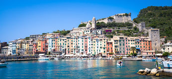 Porto Venere, Italy - June 2016 - Cityscape Royalty Free Stock Images