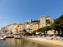Porto Venere Italy stock photos