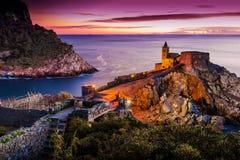 Porto Venere, Liguria, Włochy Obrazy Royalty Free
