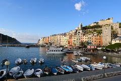 Porto Venere marina Royalty Free Stock Photo