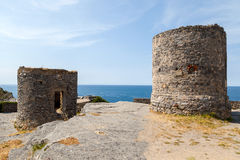 Porto venere ruins Stock Photo