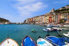 Porto venere view Royalty Free Stock Photography