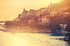 Porto Venere włoszczyzna Riviera Zdjęcia Royalty Free