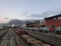 Porto Victoria e Alfred Watertown Cape Town South Africa fotografia stock libera da diritti