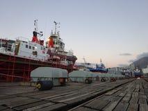 Porto Victoria e Alfred Watertown Cape Town South Africa fotografie stock