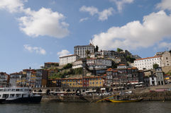 Porto, view from boat Royalty Free Stock Images