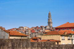 Porto. View from the Cathedral to the city of Porto, Portugal Royalty Free Stock Photos