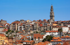 Porto. View from the Cathedral to the city of Porto, Portugal Stock Photo