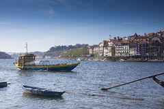 Porto and Vila Nova de Gaia Portugal Royalty Free Stock Photo