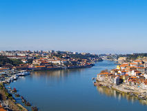 Porto and villa nova di Gaya, Portugal Royalty Free Stock Photo