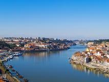 Porto and villa nova di Gaya, Portugal Royalty Free Stock Photo