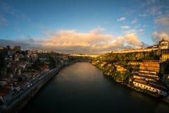 porto Vista de la ciudad portugal imagen de archivo libre de regalías