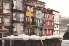 Porto-Wohnungen Stockbild