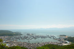 Porto YangJiang China Imagens de Stock Royalty Free