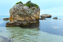 Porto Zorro beach (Zakynthos, Greece) Royalty Free Stock Photo