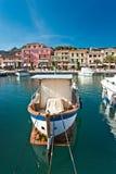 Portoazzurro, Insel von Elba, Italien. stockfoto