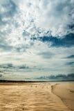 Portobello beach near Edinburgh, Scotland Royalty Free Stock Photo