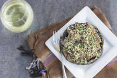 Portobello Gratin Stock Photography