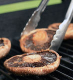Portobello on the Grill Royalty Free Stock Photos
