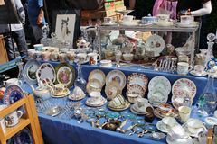Portobello Market Stock Image